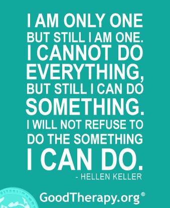 I Can Do~Helen Keller